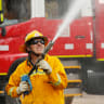 Sunshine Coast bushfire contained, warning downgraded