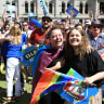 Same-sex marriage survey result creates common ground on the campaign trail