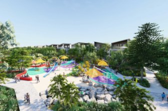 The Montario Quarter's recreation parklands will be something never before seen in an inner city residential development in Perth, Landcorp says.