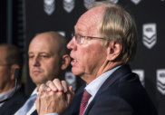 More drama: Todd Greenberg and Peter Beattie have had a busy week.