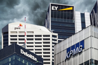 The big four accounting firms were under the microscope on Friday.