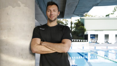 Former athlete and now business coach Ian Thorpe.