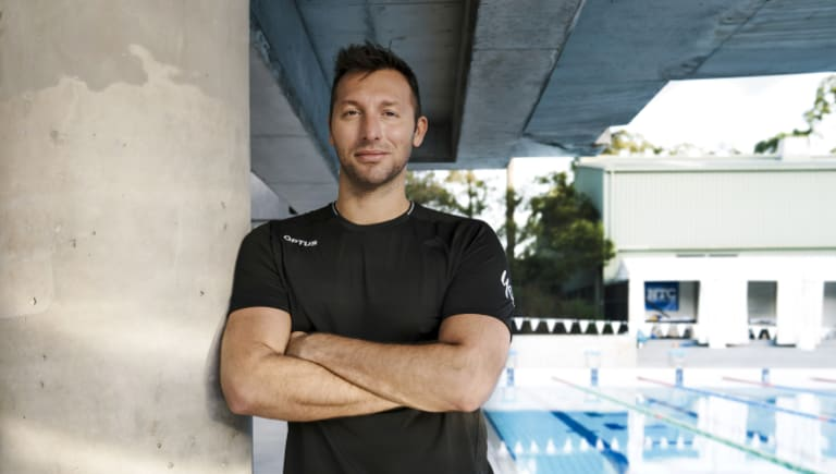 Ian Thorpe is the small business ambassador for Optus ahead of the Commonwealth Games.