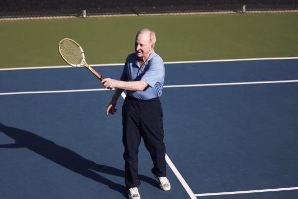 """""""I used to be a fairly good tennis player,"""" said Laver."""