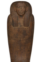 The coffin of the high priestess  Mer-Neith-it-es.