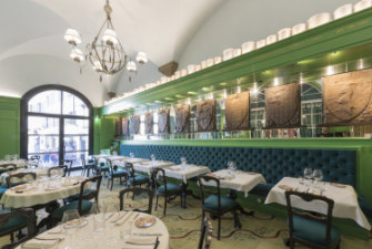 The Gucci Osteria in Florence's Gucci Garden.
