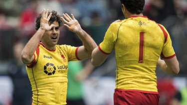 On the rise: Spanish rugby, both seven and 15-a-side, is gaining steam.