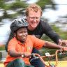 The volunteer bike program that's wheely good for kids