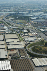 The Fishermans Bend development precinct.