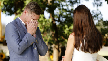 Married At First Sight's Dean was in tears after being dumped by Tracey.