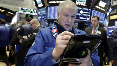 Shares have headed south again on Wall Street.