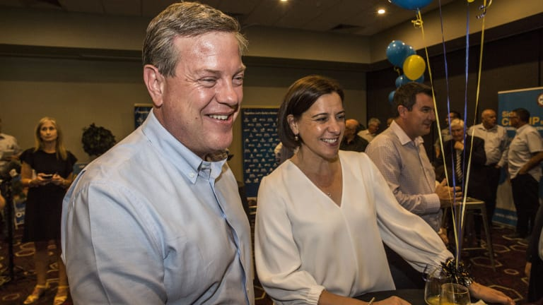 Tim Nicholls is facing some challenging approval ratings.