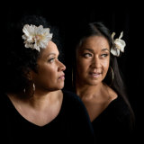 Music Victoria Hall of Fame inductees Vika and Linda Bull.