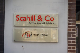 The building in Parramatta housing Scahill & Co is also home to the Rush Group.