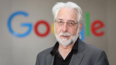 Google vice-president of news Richard Gingras.