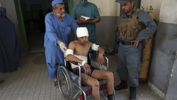 Islamic State claims responsibility for suicide bombing near shrine in Afghan capital