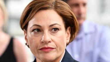 Acting Premier Jackie Trad