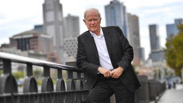 Emirates president Tim Clark in Melbourne this week.