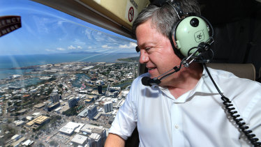 Tim Nicholls announced an LNP government would introduce a youth curfew during a visit to Townsville on Thursday,