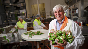 Quin Scalzo has been made a Member of the Order of Australia for founding Scalzo Food Industries and for his extensive charity work.