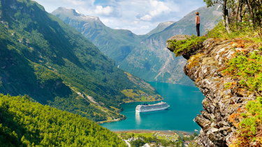 Norway's fjords are known for their beauty but they harbour a less-than appealing secret - years' worth of garbage.