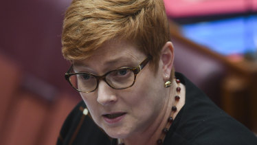 Defence Minister Marise Payne has defended Australia's funding of abortion services.