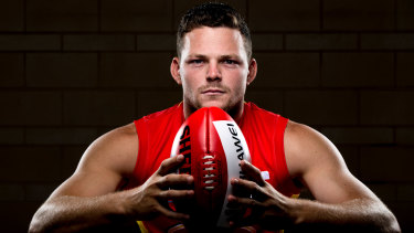 Gold Coast co-captain Steven May this week.