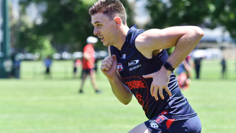 Jake Lever has added to the growing buzz around the Demons.