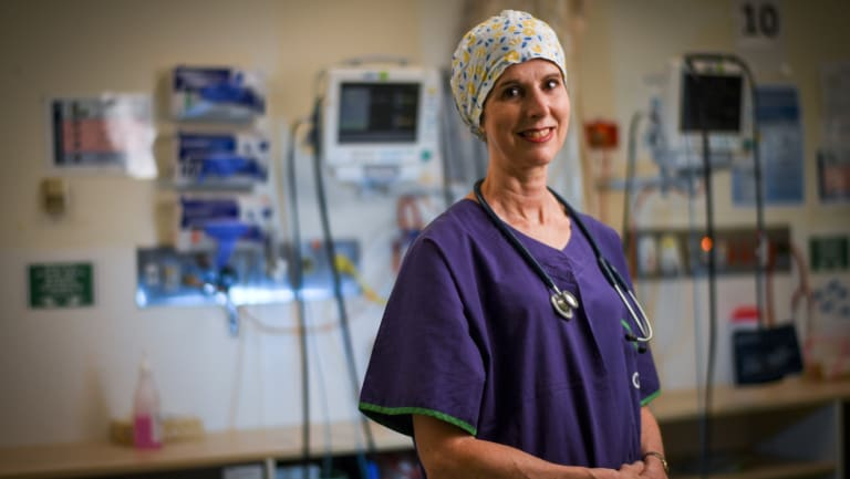 Anaesthetist Dr Phillipa Hore says patients often think she is a nurse.