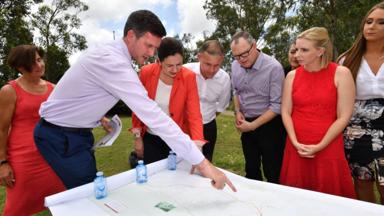 Mains Roads minister Mark Bailey says his department is now planning a new Centenary Bridge at Jindalee.