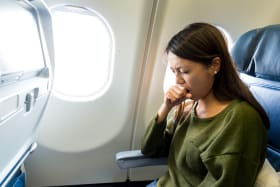 The surprising person you're most likely to get sick from on a plane