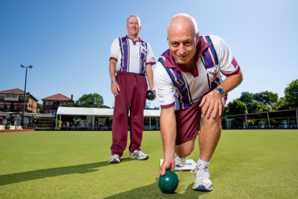 How bowls helped a Brisbane coffee mogul and his mate defy a life-altering diagnosis