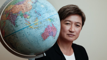 """I think you're always better off seeking co-operation than seeking contest. And what do we think is right for Australia?"": Penny Wong."