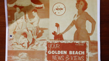 The original promotional material for Victoria's Golden Beach.