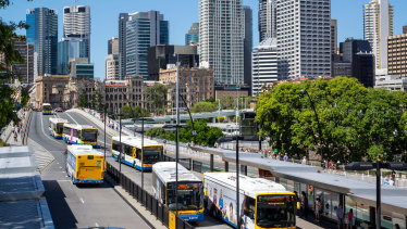 The report claims Brisbane has the best public transport in the country.
