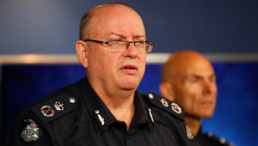 Graham Ashton said police believe a core group of reoffenders are behind the home invasions.
