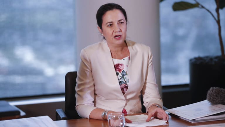 What remarkable act of leadership has Premier Annastacia Palaszczuk delivered in her first three years?