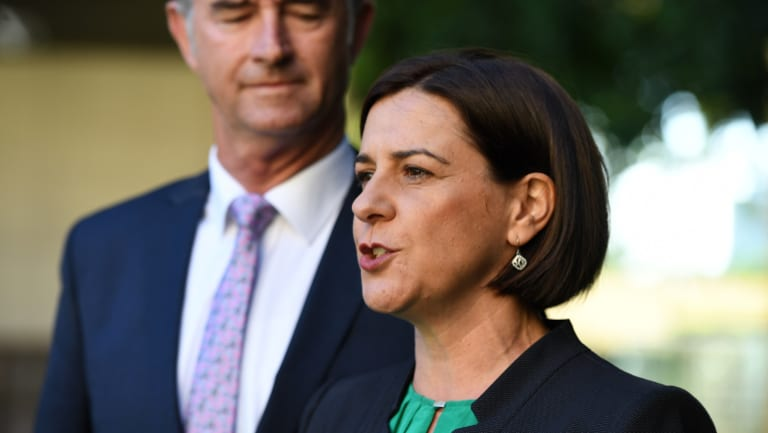 LNP leader Deb Frecklington says all the party's policies are up for review following last month's election defeat.