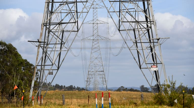 The cost of 'poles and wires' used to get electricity to homes and businesses makes up 48 per cent of your electricity bill.