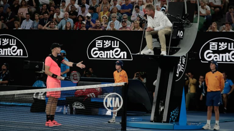 What's your point?: Some argue replacing line judges will take the 'human element' out of tennis.