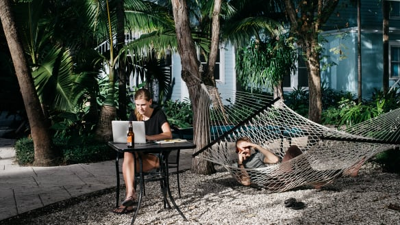 Fixed address? That's so last-century. Meet the new-gen digital nomads