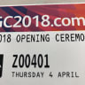 Commonwealth Games opening ceremony tickets printed with wrong day
