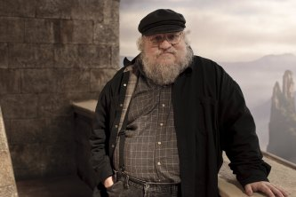 A Song of Ice and Fire author George R.R. Martin, the series Game of Thrones was based on.