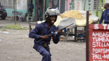 Congolese security forces security forces cracked down on planned church protests against President Joseph Kabila.