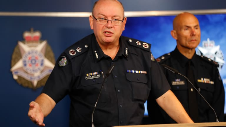 Chief Commisioner Graham Ashton says he's baffled by Mr Guerin's behaviour.