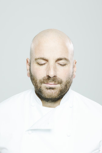 """George Calombaris: """"It was like I'd just scalded my hand on the hotpot and then stuck it in ice water and gone 'Ahhh'. That's what meditation was like for me."""""""