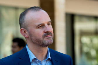 Chief Minister and Treasurer Andrew Barr would create a reserve of funds to allow directorates to over-spend their capital works budget, if deductions are made later.