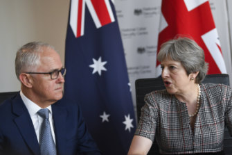 Prime Minister Malcolm Turnbull and his British counterpart, Theresa May, will beef up cyber warfare defences.