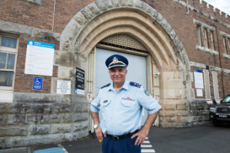 """""""We have to change with the times for us to be successful"""": Long Bay Prison governor Pat Aboud."""