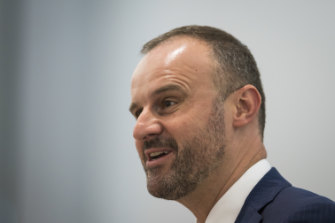 Chief Minister Andrew Barr will also move to protect gay teachers from discrimination.